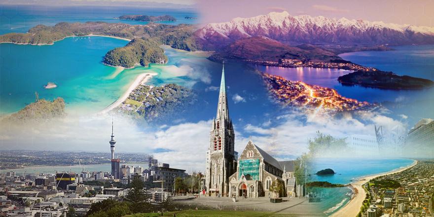 Esportes radicais são o forte de algumas cidades da Nova Zelândia